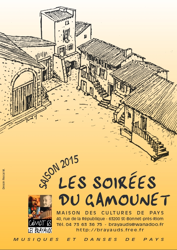 Soirées du Gamounet 2015