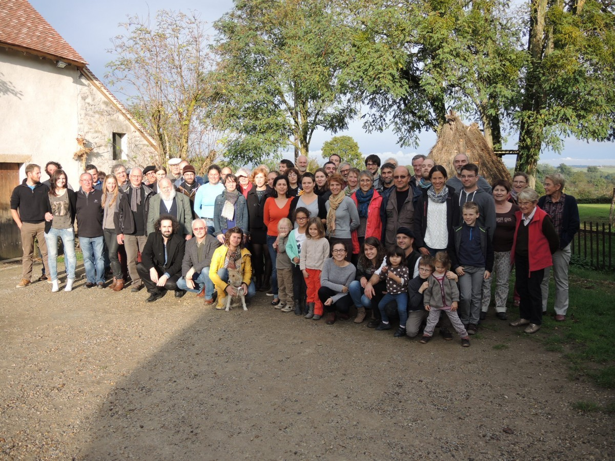 Photo de famille à Embraud