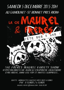La Cie Maurel & Frères fête ses 5 ans !