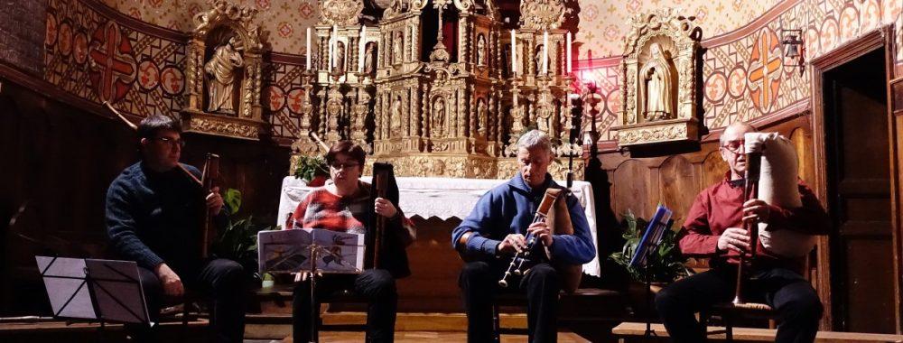 Les Brayauds au concert de Noël de Saint-Bonnet